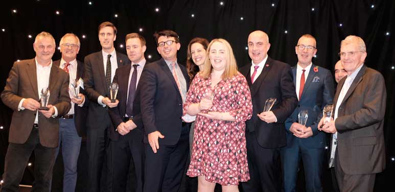 The Winners of the inaugural INCA Awards programme