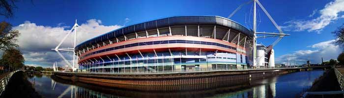Cardiff's Millenium (Principality) Stadium