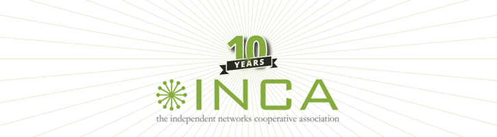 INCA Tenth Anniversary banner image