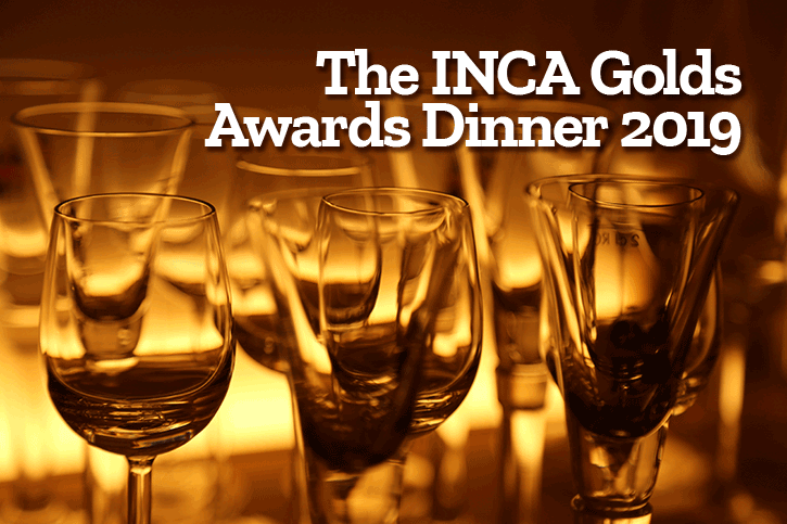 The INCA Golds Awards Dinner 2019