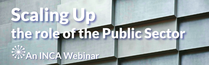 Scaling up the Role of the Public Sector