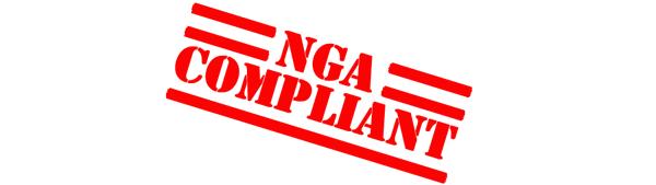 NGA Compliant stencil stamp image