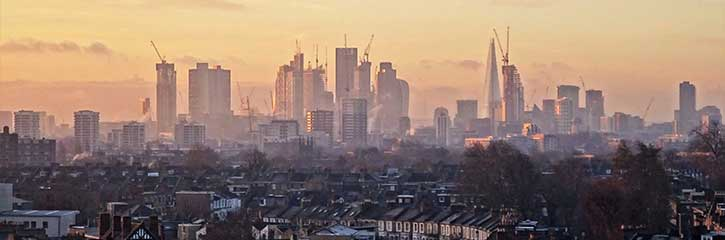 London Sunrise from Hackney