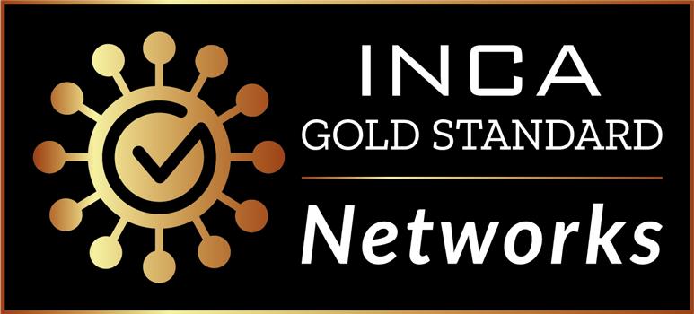 INCA Gold Standard branding